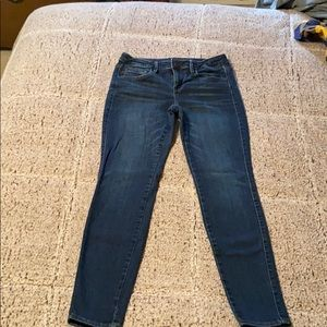 Jegging jeans with zipper